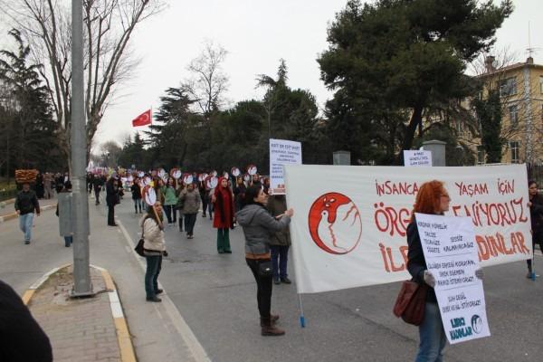 İstanbul 8 Mart mitinginde coşku ve umut vardı