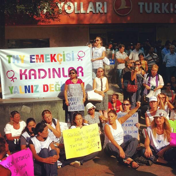 İKD THY işçilerine desteğini sürdürüyor