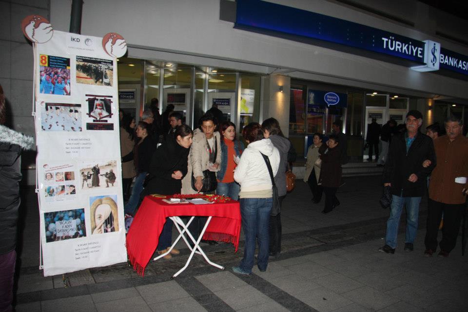 İKD İzmir'de Emekçi Kadınlar Günü için alanlara çağırıyor!