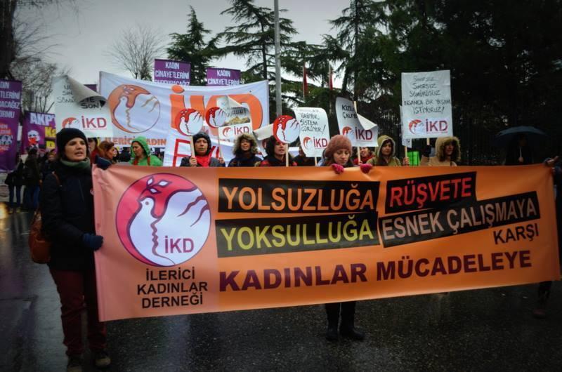 SGBP Kadın Koordinasyonu'ndan direniş sırasında cinsel tacize uğrayan kadın işçileri ziyaret