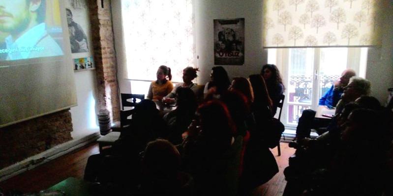 İlerici Kadınlar No Filmi'nin gösteriminde bir araya geldi!