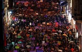 8 Mart'ta sokaklardaydık!