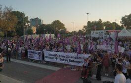 Kadıköy'de kadın cinayetlerine karşı eylemdeydik!